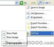 IE Assistant screenshot